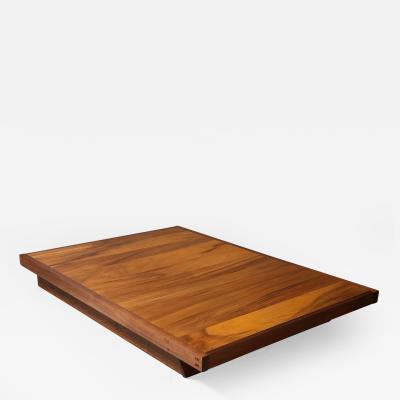 George Nakashima Walnut Platform Bed by George Nakashima