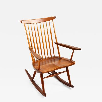 George Nakashima Walnut Rocking Chair