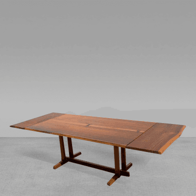 Nakashima Table george nakashima - walnut rosewood dining table extension george