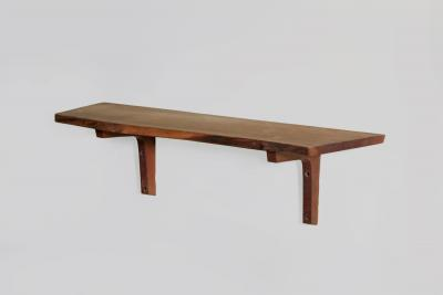 George Nakashima Walnut Wall Shelf