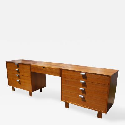 George Nelson BSC Double Dressers Suspended Vanity by George Nelson for Herman Miller