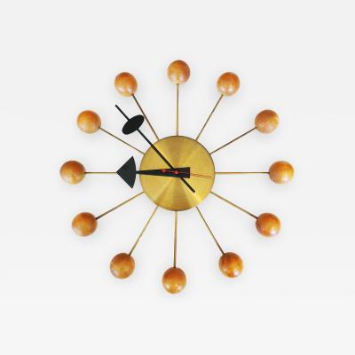 George Nelson Ball Clock by George Nelson for Howard Miller