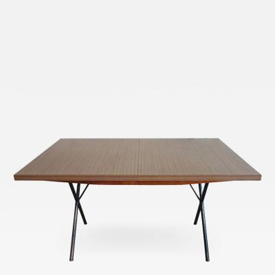 George Nelson Early Mid Century George Nelson for Herman Miller X Leg Dining Table