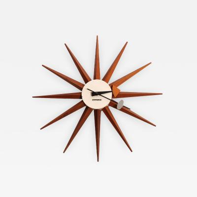 George Nelson Early Wall Clock by George Nelson