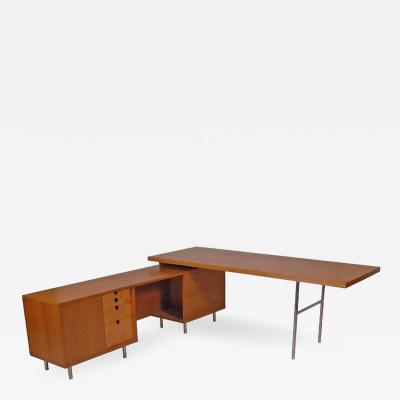 George Nelson Executive Office Group Desk by George Nelson 1952 for Herman Miller