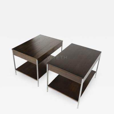 George Nelson GEORGE NELSON PAIR OF NIGHT STANDS