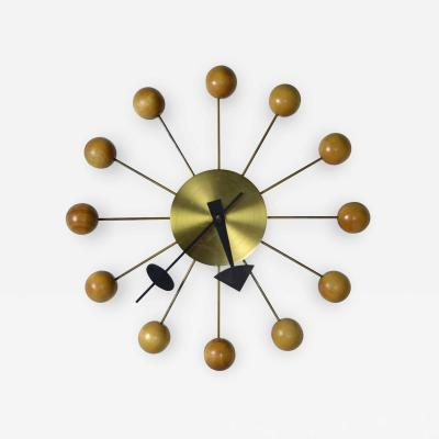 George Nelson George Nelson Ball Clock for Howard Miller