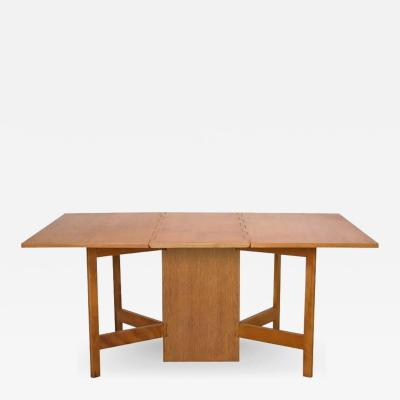 George Nelson George Nelson Gate Leg Dining Table Model 4656 by Herman Miller in Oak