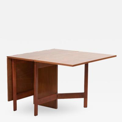 George Nelson George Nelson Gate Leg Dining Table Model 4656 by Herman Miller in Walnut