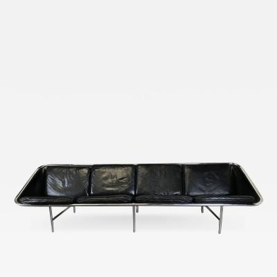George Nelson George Nelson Leather Sling Sofa for Herman Miller