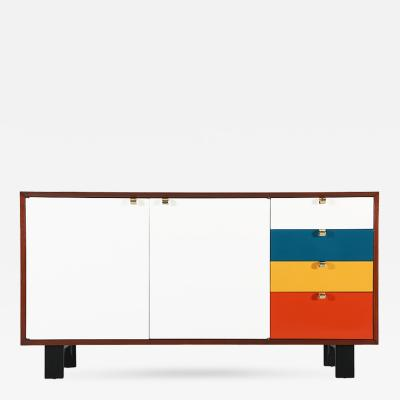 George Nelson George Nelson Multi Color Credenza for Herman Miller