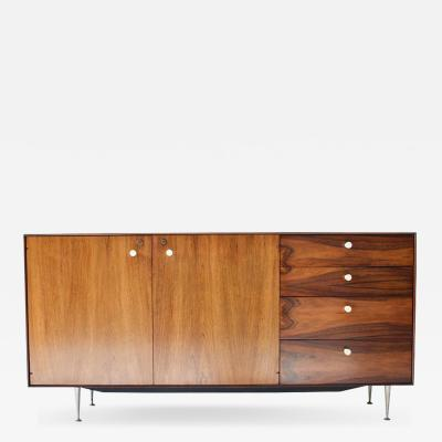 George Nelson George Nelson Rosewood Thin Edge Cabinet