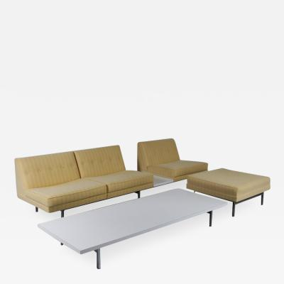 George Nelson George Nelson Sofa Ottoman and Coffee Table for Herman Miller USA 1960