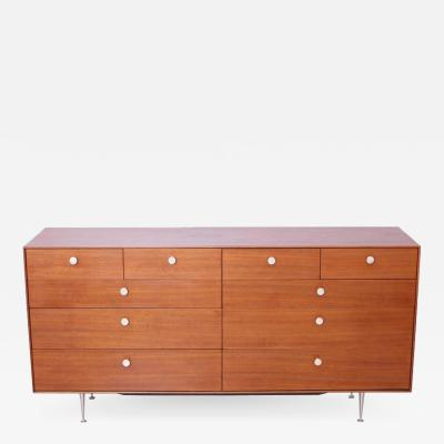 George Nelson George Nelson Thin Edge Chest of Drawers in Walnut by Herman Miller