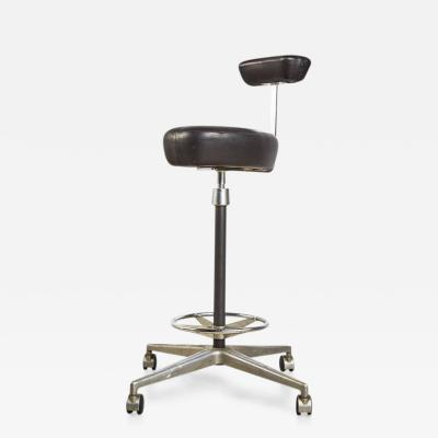 George Nelson George Nelson for Herman Miller Adjustable Height Drafting Stool circa 1960