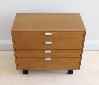 George Nelson George Nelson for Herman Miller Four Drawer Walnut Dresser