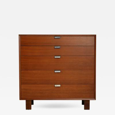 George Nelson George Nelson for Herman Miller Highboy Dresser Signed circa 1950