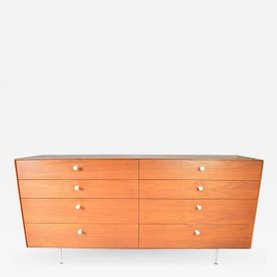 George Nelson George Nelson for Herman Miller Teak 8 Drawer Thin Edge Dresser