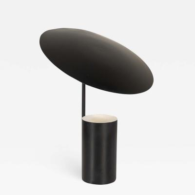 George Nelson Half Nelson Black Table Lamp for Koch and Lowy