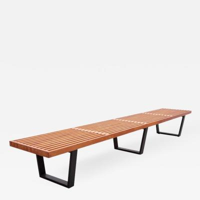George Nelson Largest George Nelson Slat Bench for Herman Miller