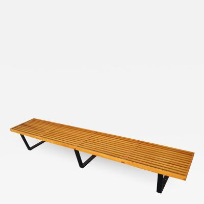 George Nelson Long Platform Bench Model 4993 by George Nelson for Herman Miller