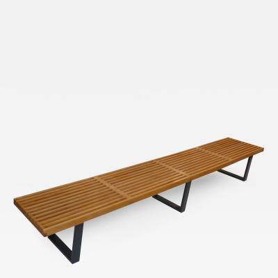 George Nelson Longest Platform Bench by George Nelson for Herman Miller