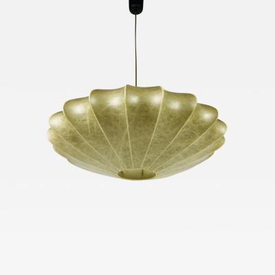 George Nelson MID CENTURY MODERN SAUCER COCOON PENDANT LAMP BY GEORGE NELSON 1960S