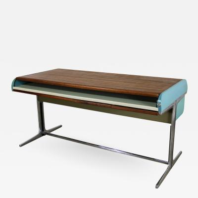 George Nelson Mcm herman miller action office l roll top desk by george nelson robert propst