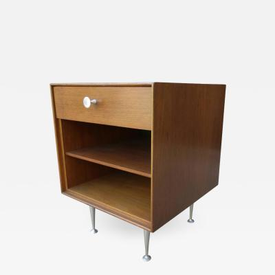 George Nelson Mid Century George Nelson Thin Edge Side Table or Nightstand