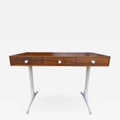 George Nelson Midcentury George Nelson Thin Edge Desk in Rosewood for Herman Miller
