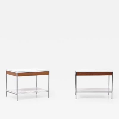 George Nelson Pair of George Nelson 5751 Side Tables by Herman Miller Germany 1950s