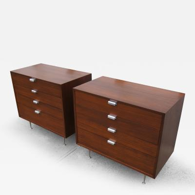 George Nelson Pair of Small Dressers by George Nelson for Herman Miller