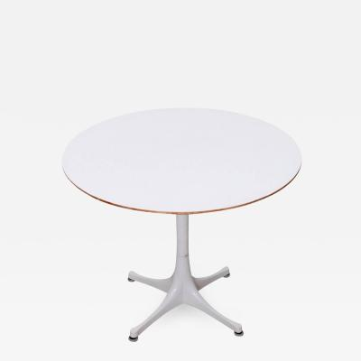 George Nelson Pedestal Side Coffee 5452 Table by George Nelson for Herman Miller