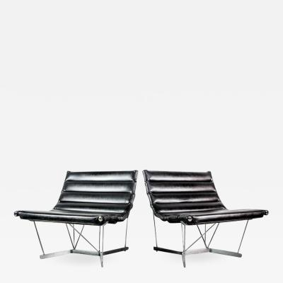 George Nelson Rare Pair of Catenary Chairs by George Nelson for Herman Miller