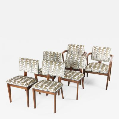 George Nelson Set of Six George Nelson 4668 Dining Chairs for Herman Miller