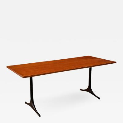 George Nelson Solid wood desk table by George Nelson for Herman Miller 1960s