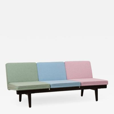 George Nelson Steel Frame Sofa by George Nelson for Herman Miller