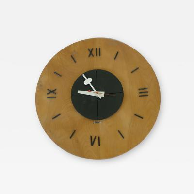 George Nelson Wall Clock by George Nelson for Herman Miller
