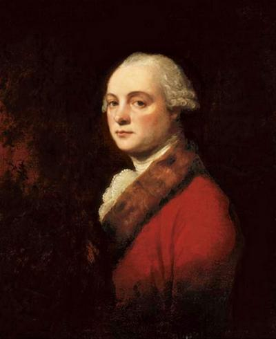 George Romney Portrait of John Kenwich Jr