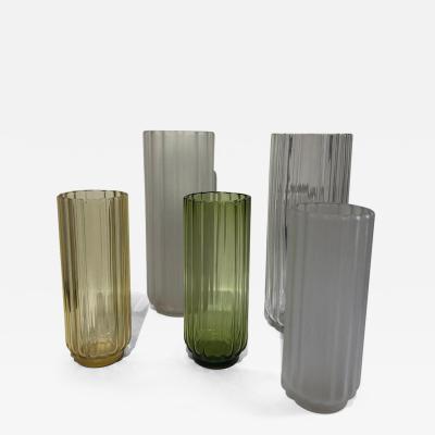 George Sakier 5 George Sakier Art Deco Vases 1930s