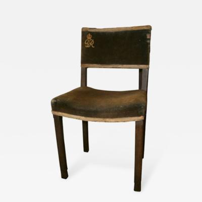George VI Coronation Side Chair 1937