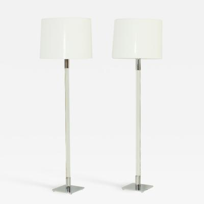 George W Hansen Pair of Hansen Floor Lamps 1970s