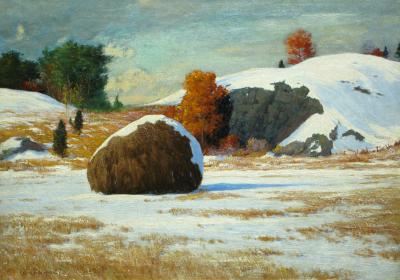 George Wainwright Harvey Early Snow Rowley Marshes