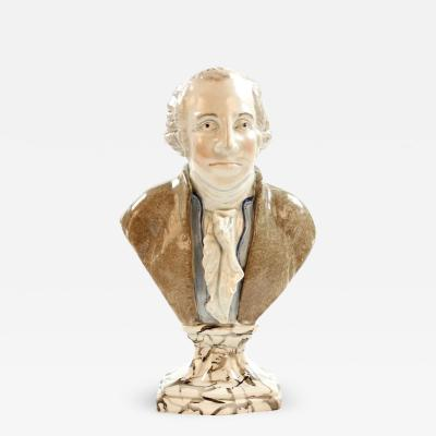 George Washington Earthenware Bust