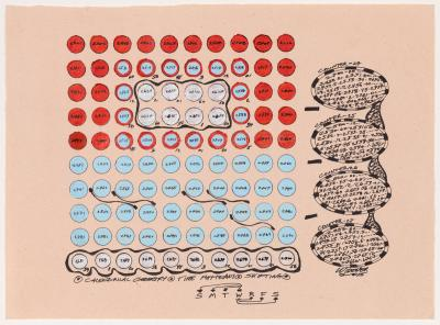 George Widener Untitled Calendrical Geometry