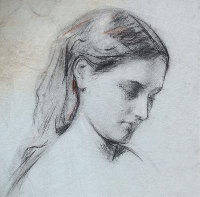 George William Joy Study of a Girl