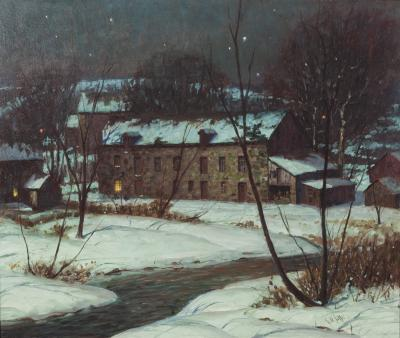 George William Sotter Spring Valley Mill