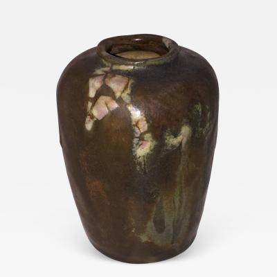 Georges Hoentschel Georges Hoentschel Brown Stoneware Vase circa 1900