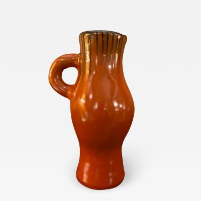 Georges Jouve Ceramic Vase Pitcher France 1950s