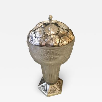 Georges Leleu George Leleu French Art Deco Table Lamp 1920s